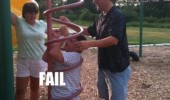 fail fat kid playground stuck funny pics pictures pic picture image photo images photos lol