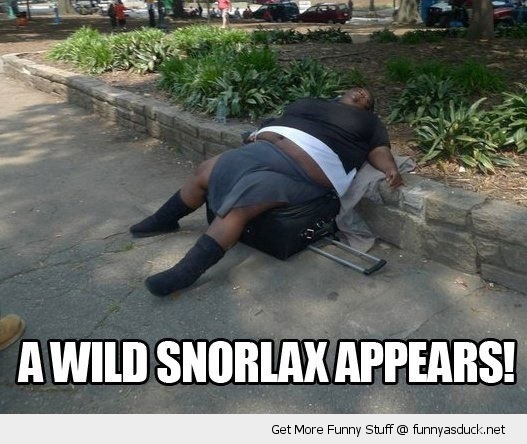 fat woman wild snorlax pokemon funny pics pictures pic picture image photo images photos lol