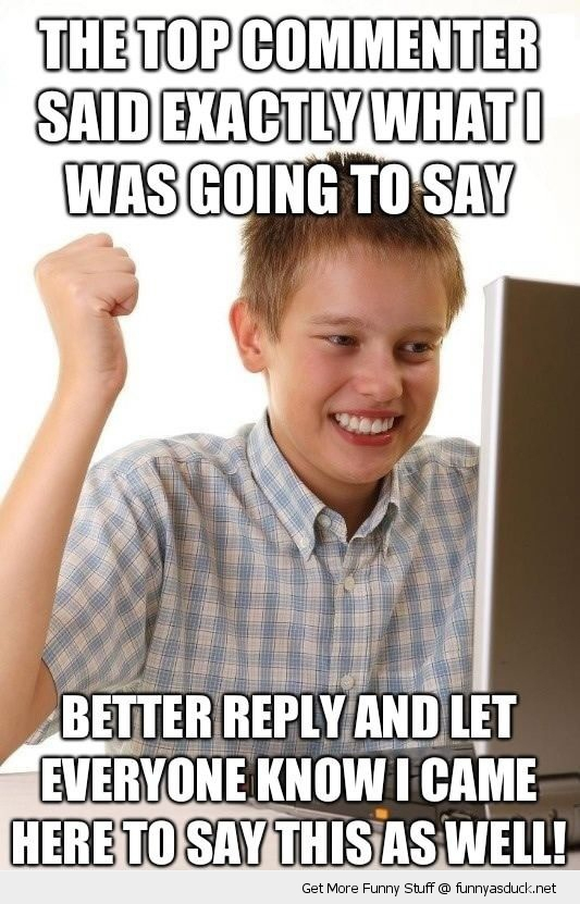 first day on the net kid meme comments funny pics pictures pic picture image photo images photos lol