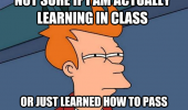 fry meme futurama learning class funny pics pictures pic picture image photo images photos lol
