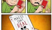 magic isnt real comic grow up funny pics pictures pic picture image photo images photos lol