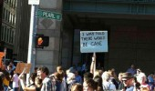 sign guy rally riot funny pics pictures pic picture image photo images photos lol