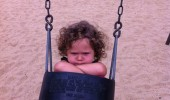 had fun once kid swing girl funny pics pictures pic picture image photo images photos lol