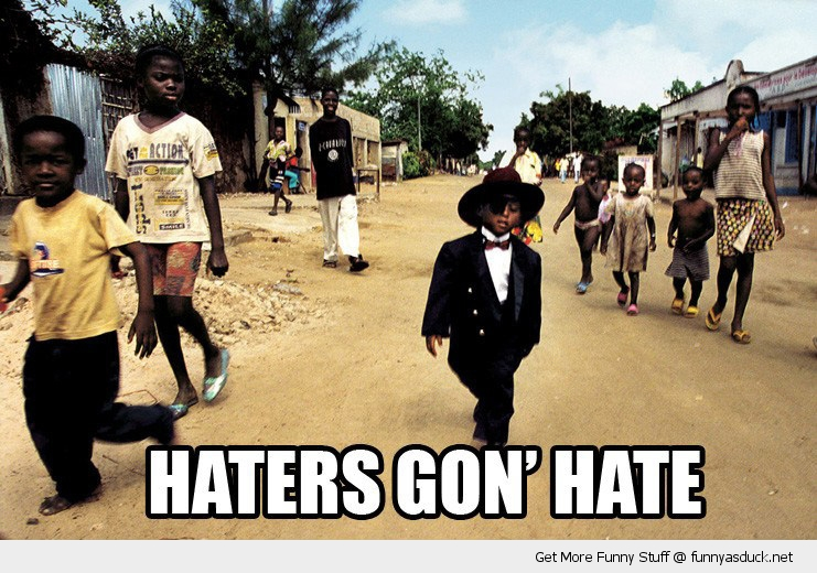 hate black kid africa village suit hat funny pics pictures pic picture ...