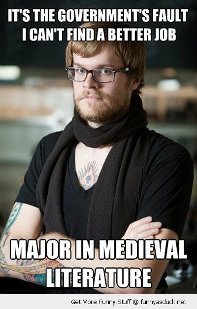 hipster barista meme medieval literature major funny pics pictures pic picture image photo images photos lol