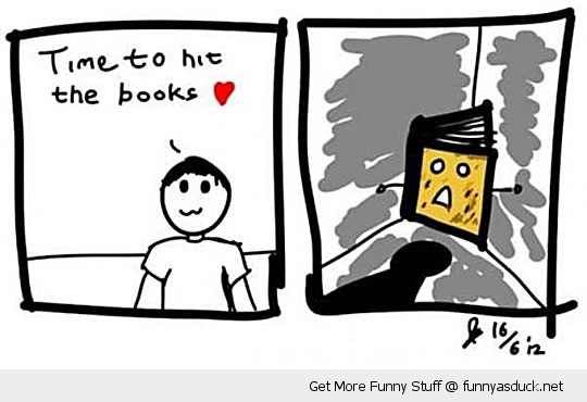 hit the books study comic abuse funny pics pictures pic picture image photo images photos lol