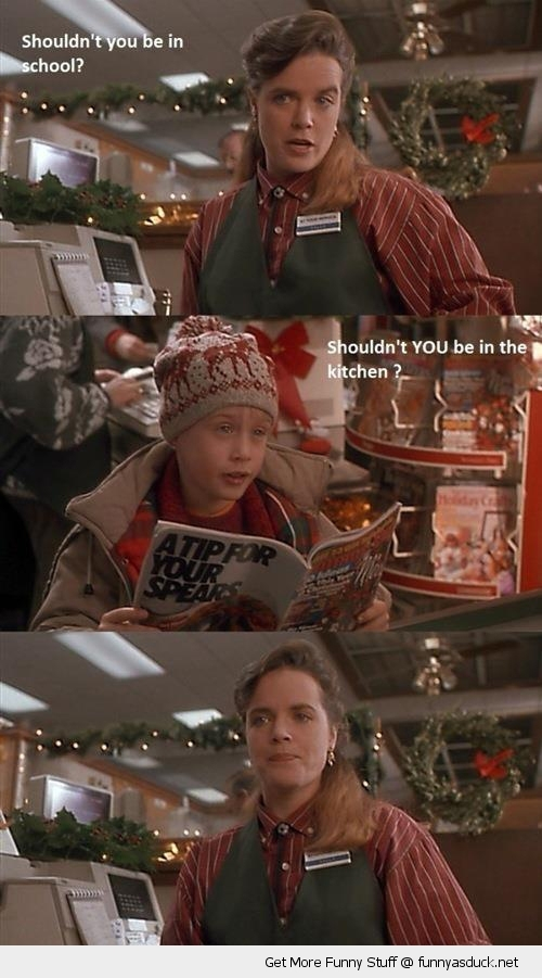 kevin home alone move scene kitchen funny pics pictures pic picture image photo images photos lol