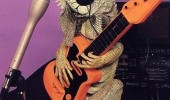 iguana rock lizard animal guitar funny pics pictures pic picture image photo images photos lol
