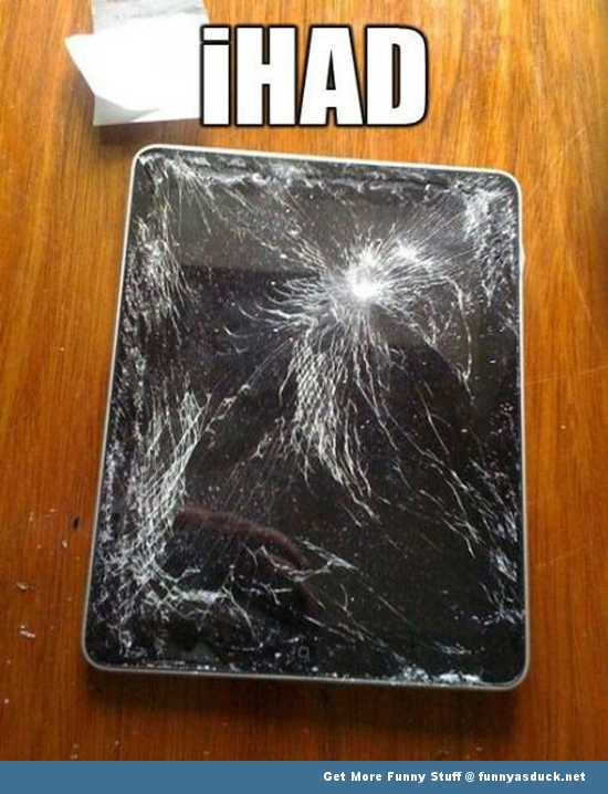 ihad ipad apple tablet funny pics pictures pic picture image photo images photos lol
