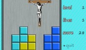 jesus saves tetris gaming nintendo game boy funny pics pictures pic picture image photo images photos lol