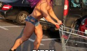bitch i'm fabulous gay man shopping cart funny pics pictures pic picture image photo images photos lol
