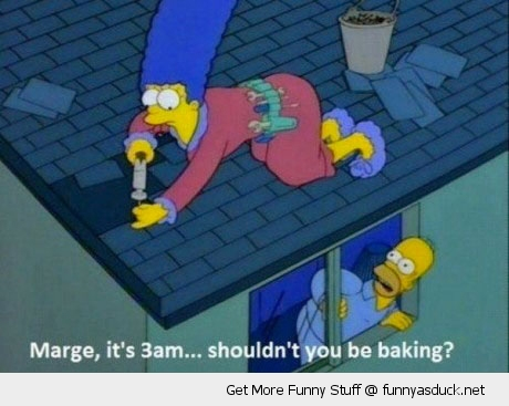 marge simpson baking homer tv scene funny pics pictures pic picture image photo images photos lol