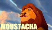 mustacha mustafa lion king disney mustache funny pics pictures pic picture image photo images photos lol