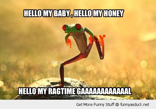 hello my baby dancing frog animal signing funny pics pictures pic picture image photo images photos lol
