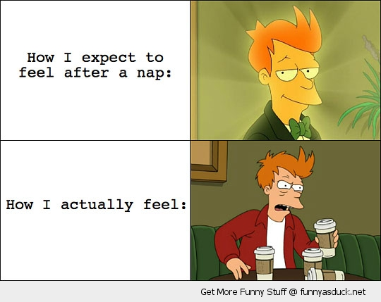 after a nap fry futurama meme rage comic funny pics pictures pic picture image photo images photos lol