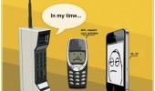 old mobile phone nokia iphone grandfather funny pics pictures pic picture image photo images photos lol