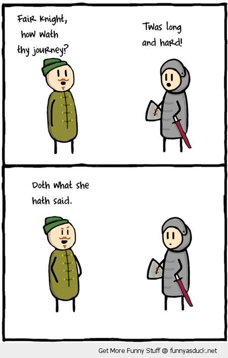 thats what she said knight robin hood comic funny pics pictures pic picture image photo images photos lol