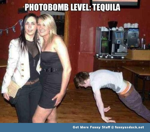 photobomb drunk guy falling tequila funny pics pictures pic picture image photo images photos lol