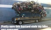 stole bike meme car funny pics pictures pic picture image photo images photos lol