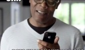 samuel l jackson siri iphone look like a bitch pulp fiction funny pics pictures pic picture image photo images photos lol