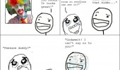 scary clown kids drawing rage comic meme funny pics pictures pic picture image photo images photos lol