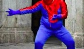 great power virginity spiderman fat guy funny pics pictures pic picture image photo images photos lol