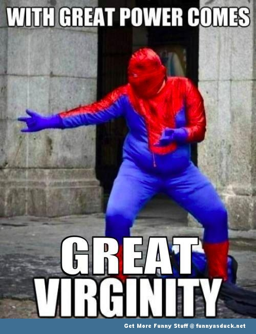 Fat Spiderman Funny funny-spiderman-fat-guy-virgin
