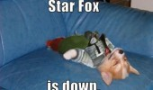 star fox is down nintendo gaming meme dog funny pics pictures pic picture image photo images photos lol