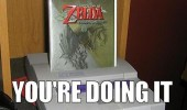 zelda super nintendo wii doing it wrong funny pics pictures pic picture image photo images photos lol