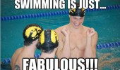 swimming is fabulous sport Olympics gay funny pics pictures pic picture image photo images photos lol