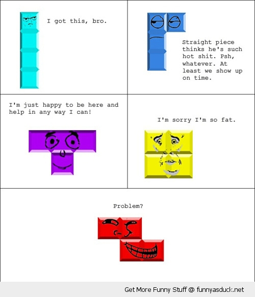 tetris rage comic game boy nintendo gaming funny pics pictures pic picture image photo images photos lol