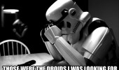 the droids star wars storm trooper movie funny pics pictures pic picture image photo images photos lol