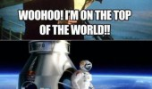 felix baumgartner titanic top of the world funny pics pictures pic picture image photo images photos lol