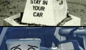 toilet stay in car okay funny pics pictures pic picture image photo images photos lol