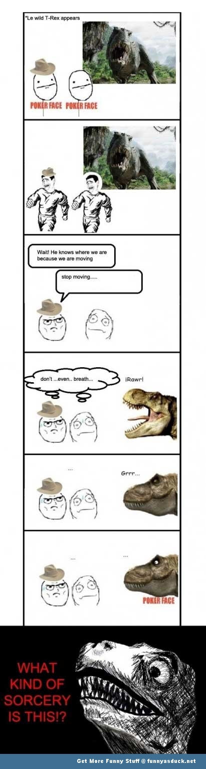 t-rex rage comic Jurassic park meme funny pics pictures pic picture image photo images photos lol