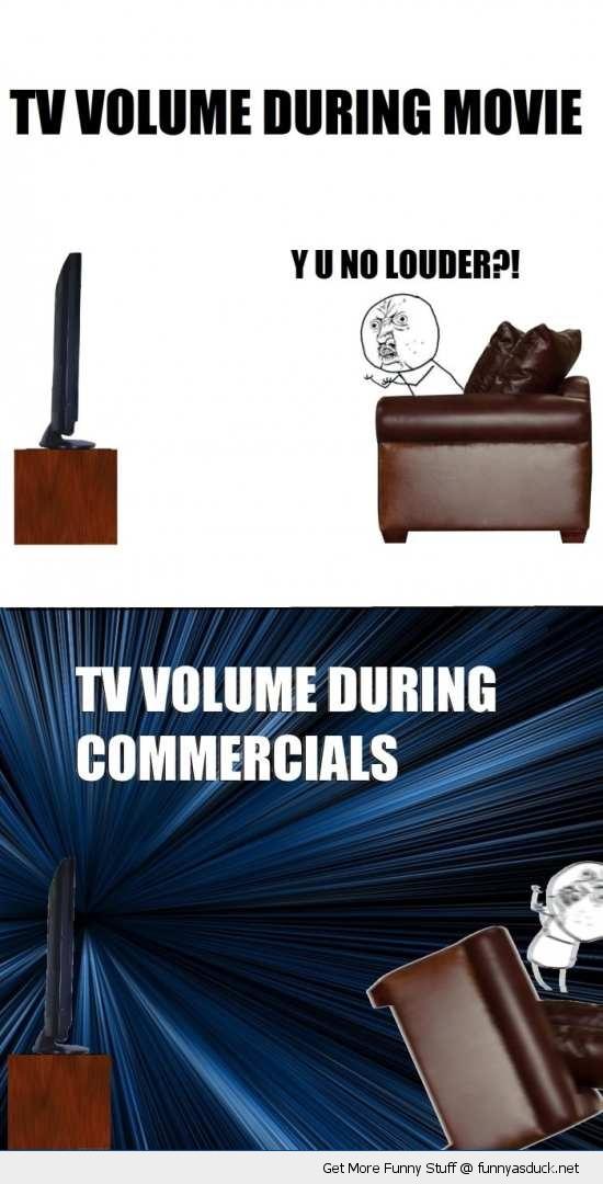 tv volume y u no guy rage comic meme funny pics pictures pic picture image photo images photos lol