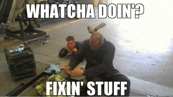 whatcha doin fixen stuff mechanics funny pics pictures pic picture image photo images photos lol