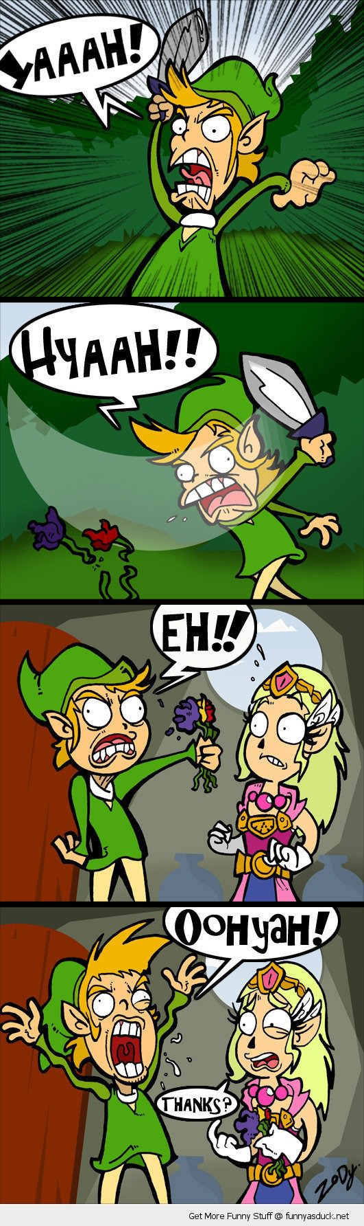 zelda link nintendo gaming comic funny pics pictures pic picture image photo images photos lol