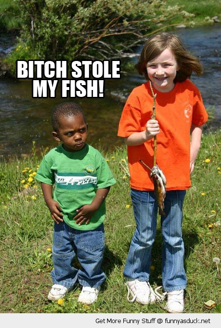 bitch stole my fish angry kid boy girl fishing funny pics pictures pic picture image photo images photos lol