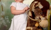 angry kid girl rocking horse god have mercy I wont funny pics pictures pic picture image photo images photos lol