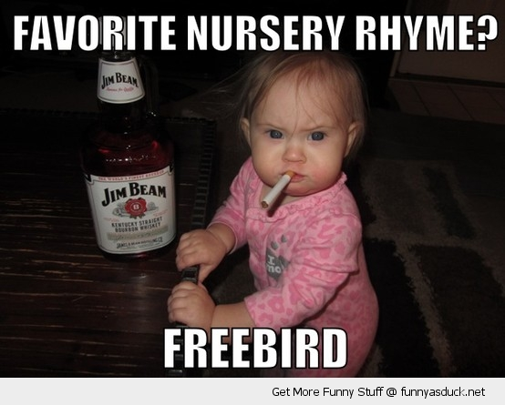 kid baby cigarette mouth nursery rhyme whiskey scotch funny pics pictures pic picture image photo images photos lol