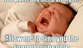 baby kid crying sleep all night song people funny pics pictures pic picture image photo images photos lol