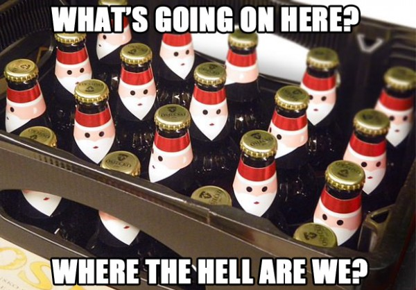 confused beer bottles faces whats going on where are we crate funny pics pictures pic picture image photo images photos lol