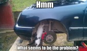 cat under car lolcat mechanic seems problem animal funny pics pictures pic picture image photo images photos lol