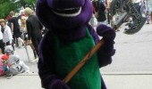 clean up barney bodies costume axe tv evil funny pics pictures pic picture image photo images photos lol
