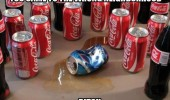 wrong neighborhood coke cans kill pepsi spill funny pics pictures pic picture image photo images photos lol