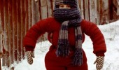 come at me snow bro kid wrapped up winter funny pics pictures pic picture image photo images photos lol