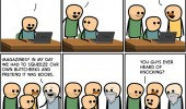 cyanide and happiness comic streaming porn guys knock funny pics pictures pic picture image photo images photos lol