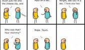 cyanide and happiness comic phone your mom funny pics pictures pic picture image photo images photos lol