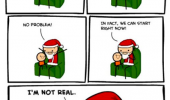 cyanide and happiness comic grown up santas not real funny pics pictures pic picture image photo images photos lol
